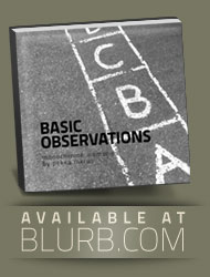 Basic Observations - monochrome memories  - a photo book available at Blurb