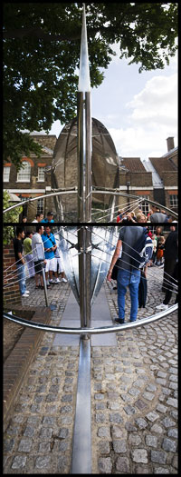 Greenwich Prime Meridian Needle
