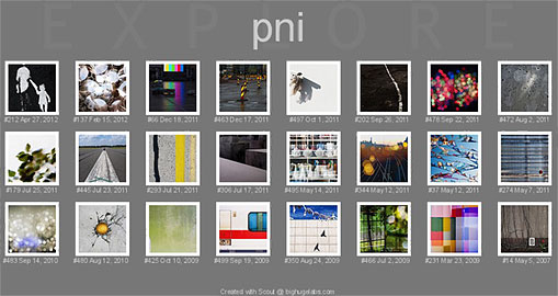 pni explored at flickr
