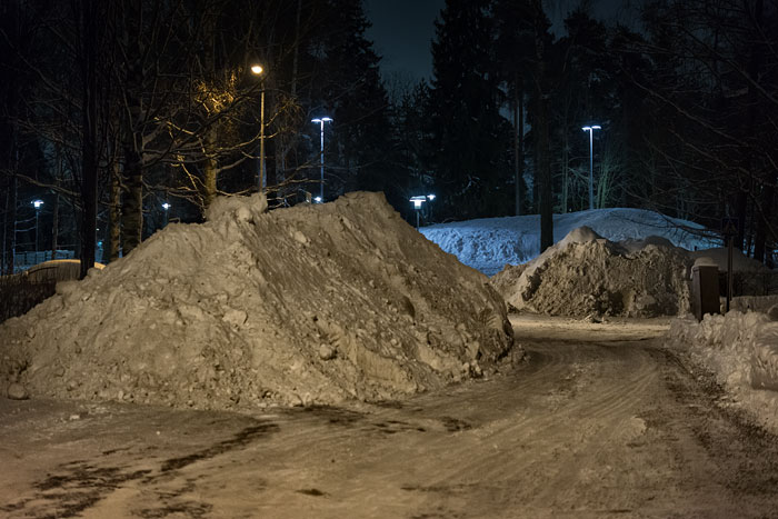 Heaps of snow in February 2019